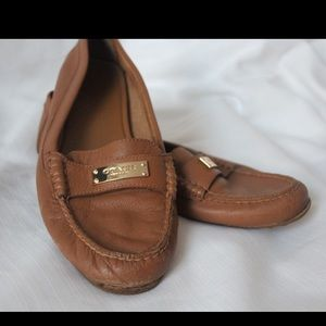 Coach Leather Flats